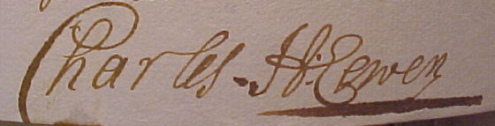 Löwens namnteckning