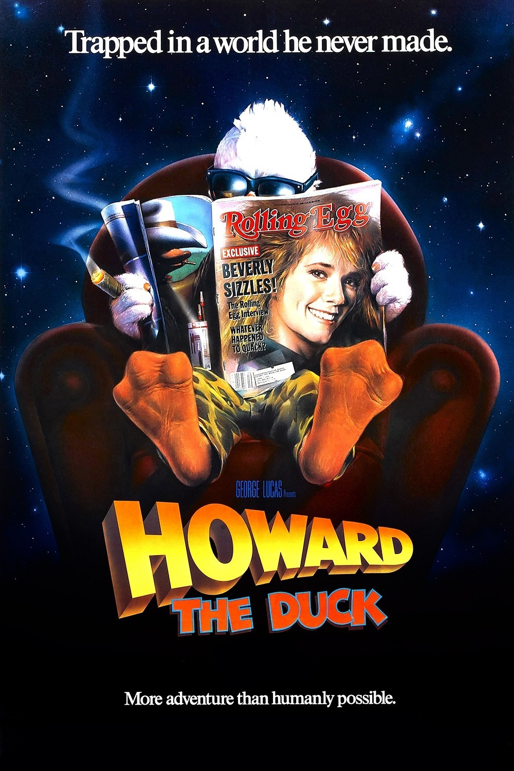 Howard The Duck Movie Poster The Movie