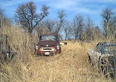 1958 IH one ton truck