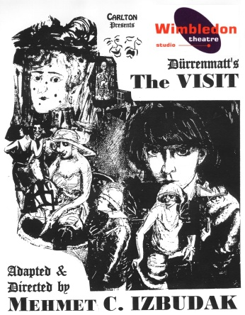 the visit durrenmatt ítulo: la visita de la vieja dama [original: der besuch der alten dame]  utor: friedrich dürrenmatt  raducción (al catalán): aurora díaz plaja y f.
