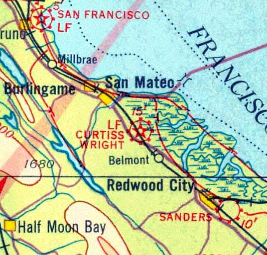 Abandoned & Little-Known Airfields: San Francisco area