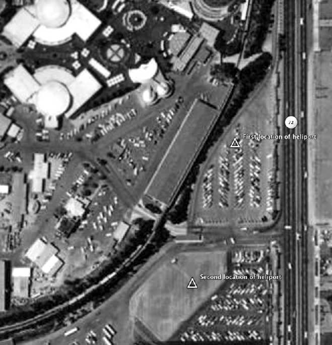 Disneyland Heliport 2nd location Anaheim CA