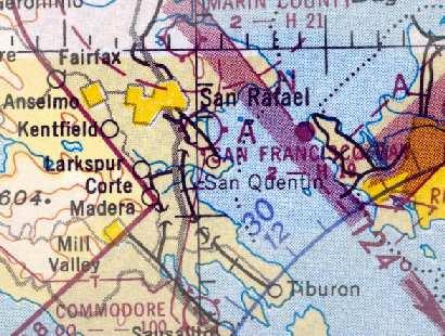 San Francisco Bay Chart