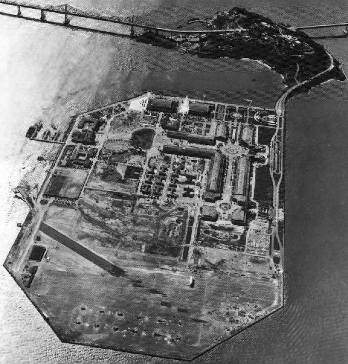 Administration Building Treasure Island San Francisco Bay California Usa