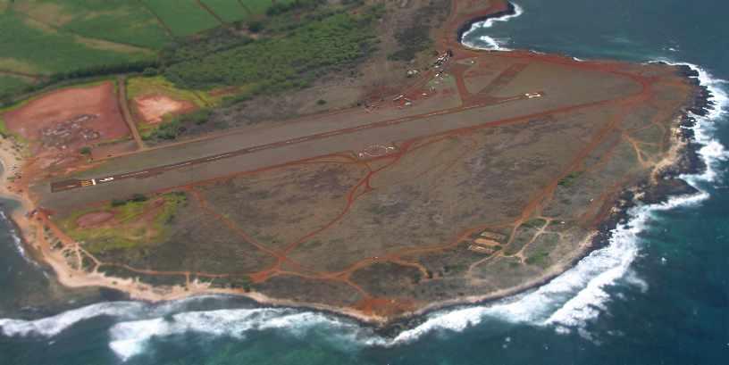 Abandoned & Little-Known Airfields: Hawaii, Kauai island