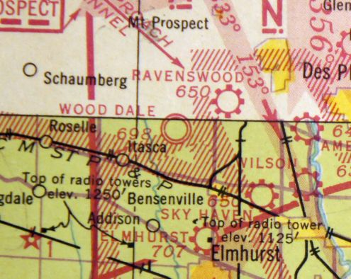 Wooddale Illinois Map.Abandoned Little Known Airfields Illinois Northwestern Chicago Area