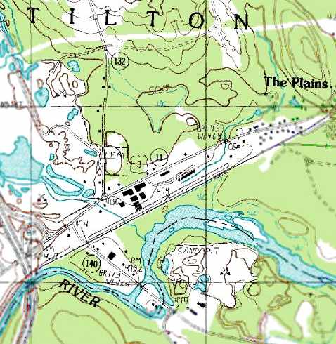 The 1987 Usgs Topo Map Still Depicted A Single 2 900 Northeast Southwest Paved Runway