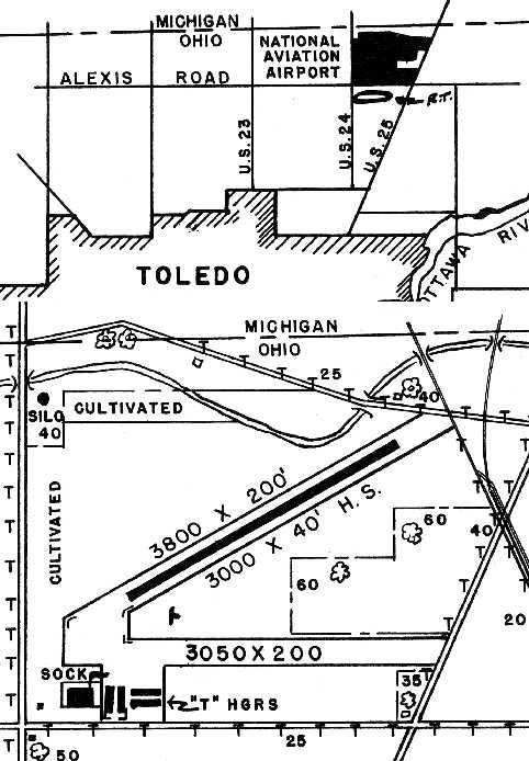Abandoned Little Known Airfields Northwestern Ohio
