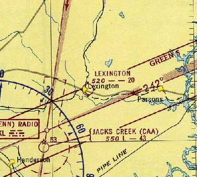 c758af9fca0 The earliest aeronautical chart depiction which has been located of the  field