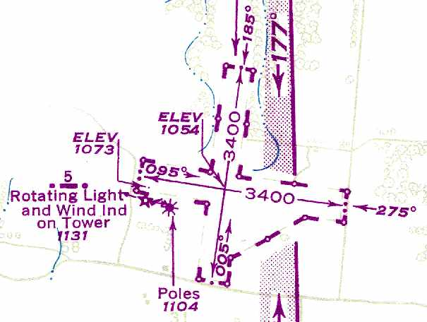 4db576fa512 as the October 1946 Chattanooga Sectional Chart (courtesy of Chris Kennedy)  labeled Smithville as Site 5. The last depiction which has been located ...