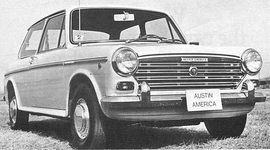 The 1968 Austin America tested by Road & Track Magazine.