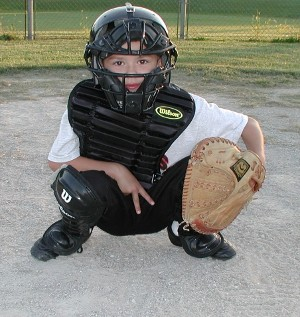 Encyclopedia Of Baseball Catchers Giving Signs