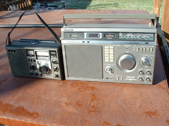 Panasonic Shortwave Transistor Radios on panasonic portable multiband receiver, panasonic rf 5000, panasonic rf-4800,