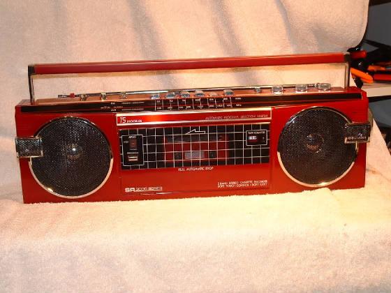 BOOMBOX, GHETTO BLASTERS AND BFR's =Big Freakin' Radios