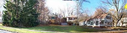 A house and lawn; Actual size=240 pixels wide