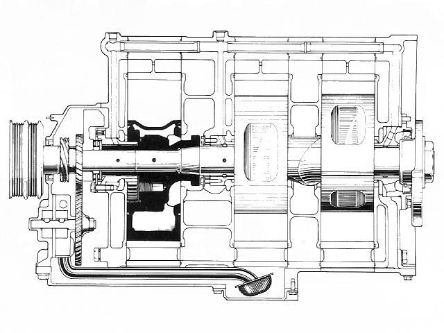 Craig's Rotary Page: Mazda 13G (3 rotor engine)
