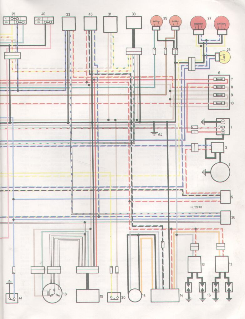 Unusual 1981 Yamaha Seca Wiring Diagram Pictures Inspiration ...