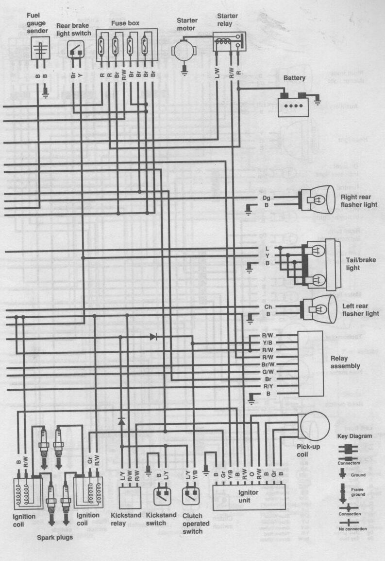 1982 yamaha xj 650 wiring diagram  1982  free engine image