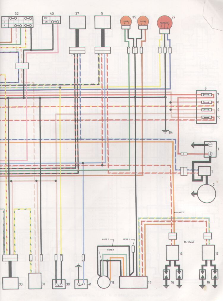 1982 vanagon wiring diagram 1982 xj550 wiring diagram the information overload hour | xjbikes - yamaha xj ... #11