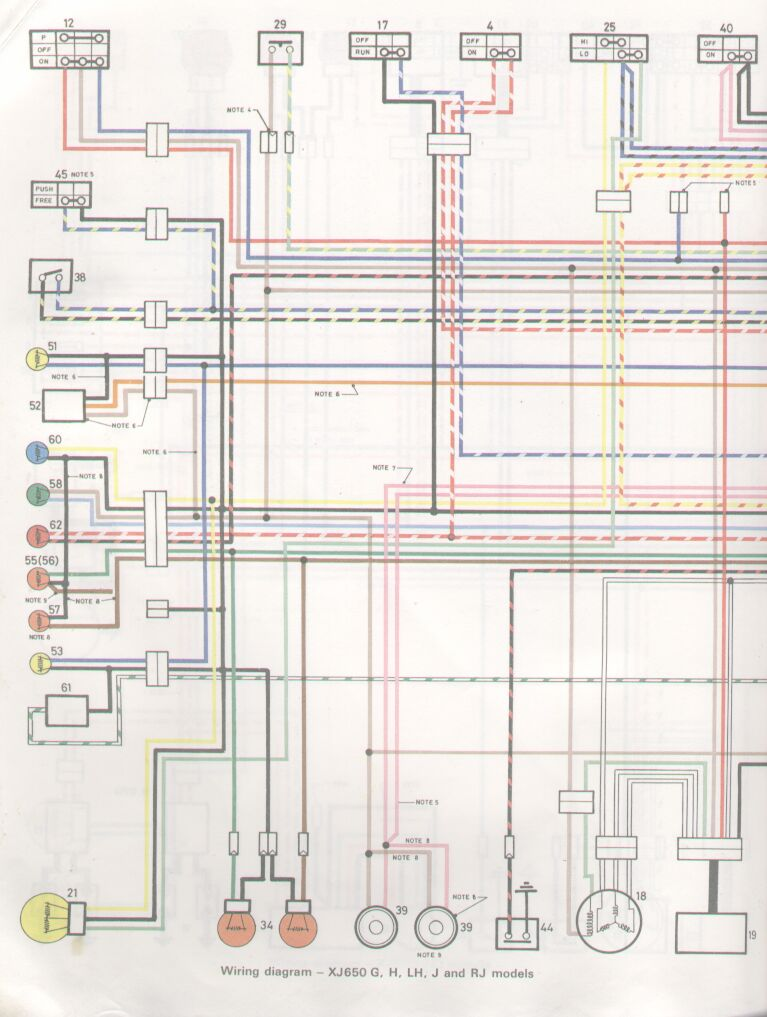 Yamaha Xj 900 Wiring Diagram - Cool Wiring Diagrams on