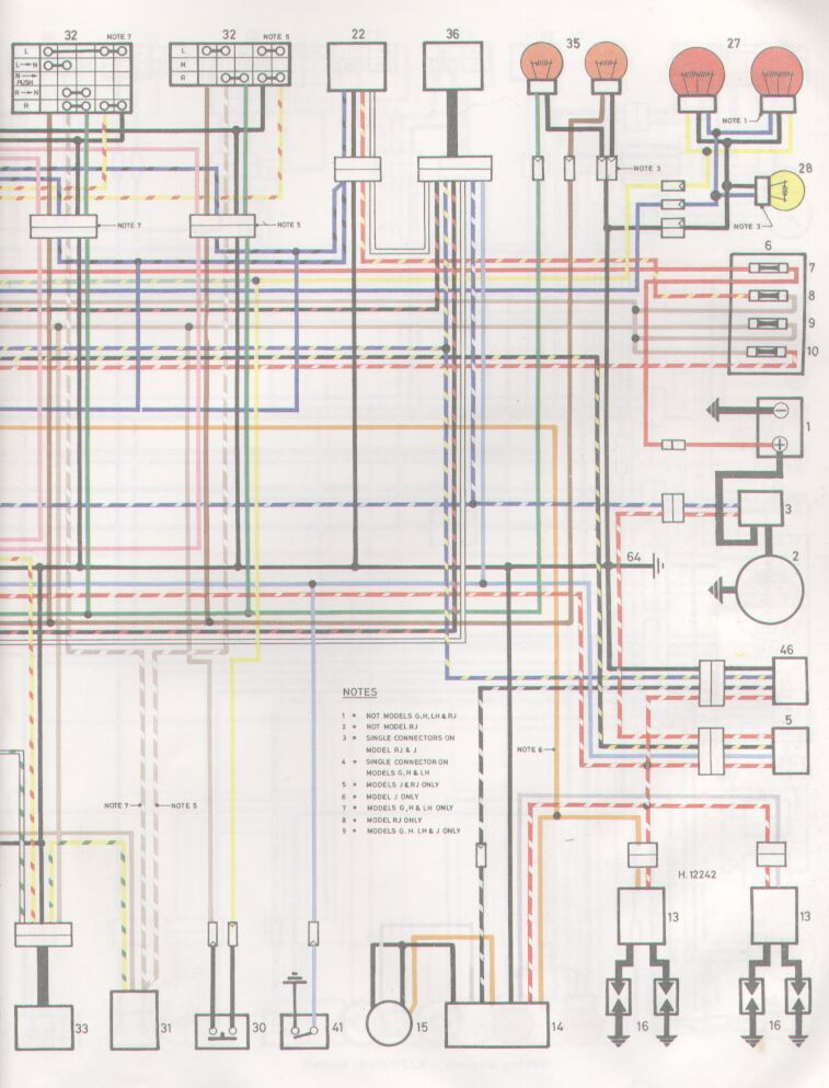 wiring diagram for 1982 yamaha xj750 maxim 1982 yamaha