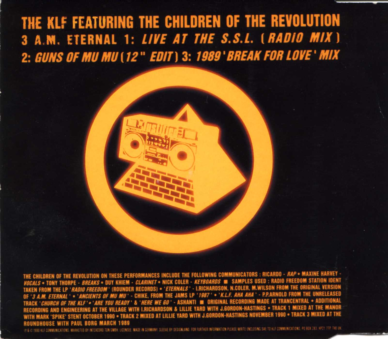 The KLF - America: What Time Is January?