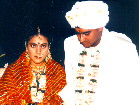 Wedding Pictures Of Kajol And Ajay