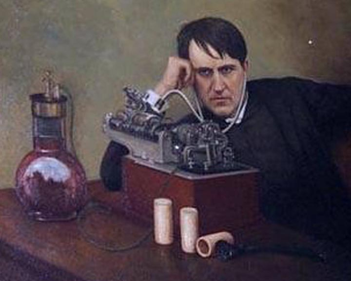 Edison the Napolian of Invention