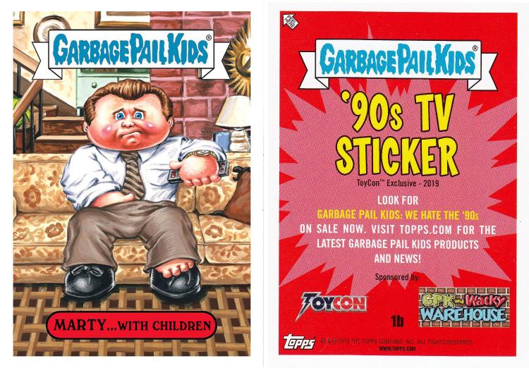 2014 Garbage pail kids series 2 unopened sealed 4 card packages funko horror