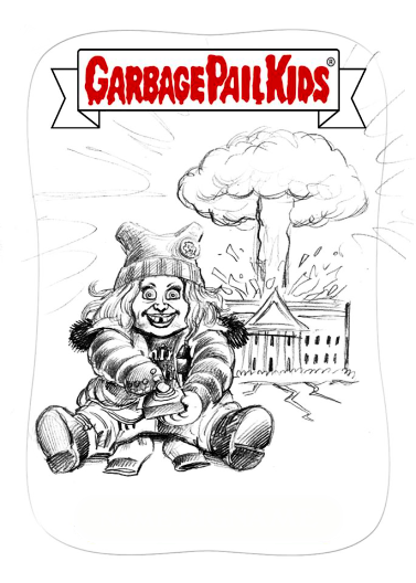 garbage pail kids coloring pages - photo#34
