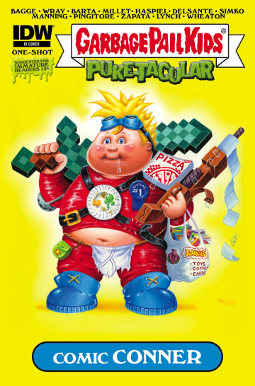Garbage Pail Kids #1 2015 Comic Book Lot of 3 different covers gpk idw os1