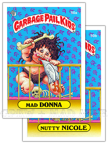 Garbage Pail Kids Chrome Series 1 Refractor Lost Card L1a Pickled Pete