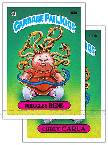 Trading Card Singles Collectible Garbage Pail Kids Lot Of 18 Cards In Sheet Non-sport Trading Cards