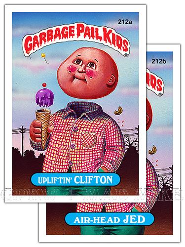 Garbage Pail Kids Original Series 6 Art Gallery Gpk World