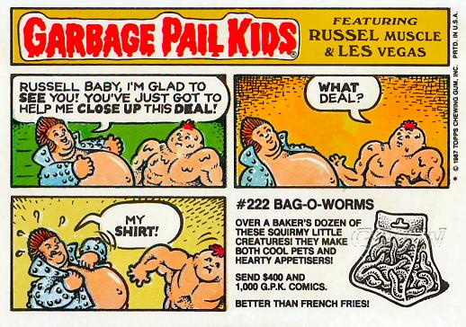 Garbage Pail Kids Shirt Fryin Ryan Charred Chad GPK 1980s Tee T Shirts