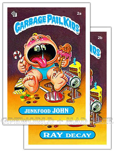 Garbage Pails Kids 2014 Series 1 Motion Chase Card 2 FRIGID BRIDGET