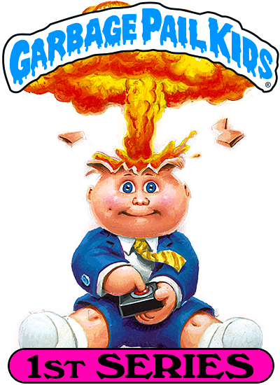 Garbage Pail Kids Chrome Series 1 Refractor Lost Card L11a Scrawled Saul