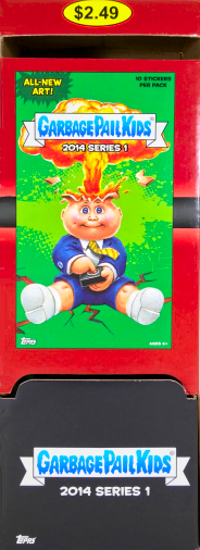 Garbage Pails Kids 2014 Series 1 Base Card 51a TEMPLE RON