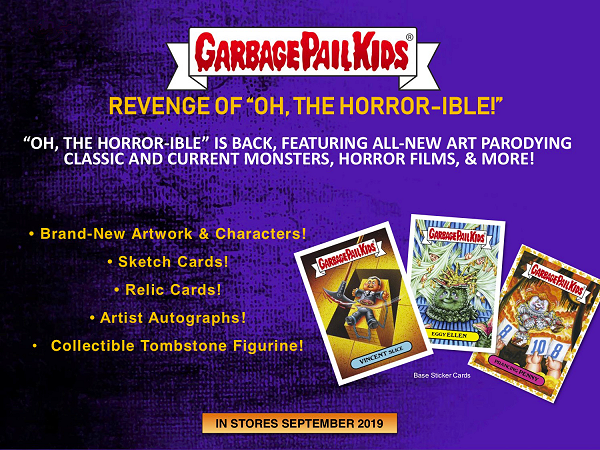 Garbage Pail Kids Sticker Revenge Of Oh The Horror-Ible 2a Joined John