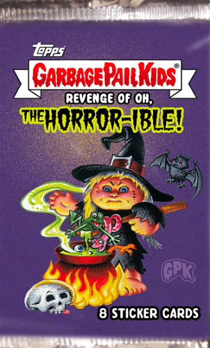 Garbage Pail Kids Revenge Oh the Horror-ible 1 FISHY PHYLLIS Tombstone GPK