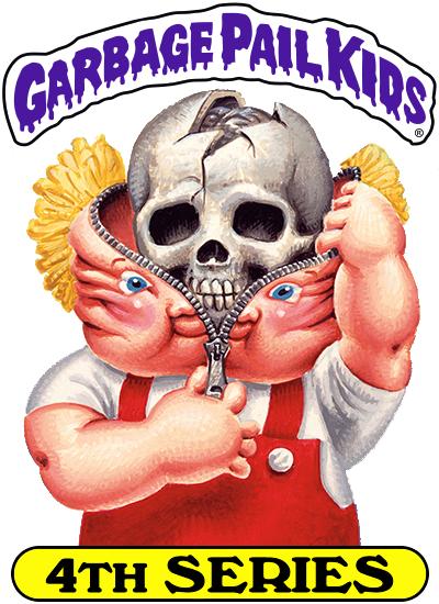 1986 SERIES 4 TOPPS GPK GARBAGE PAIL KIDS 163b RUBY CUBE