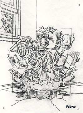 garbage pail kids coloring pages - photo#33