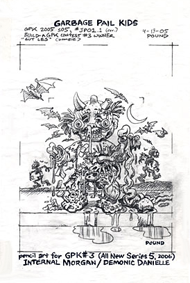 garbage pail kids coloring pages - photo#31