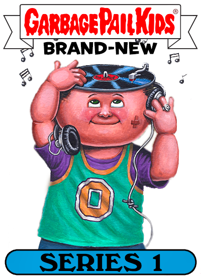 S NEW 2012 GARBAGE PAIL KIDS BNS1 SINGLE LOCO MOTION CARD