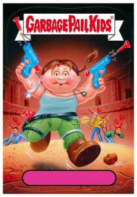 2014 Garbage Pail Kids Series 1 #37a Mahmud Flap