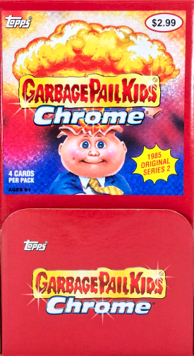 Garbage Pail Kids Chrome Series 2 Refractor Parallel 55b BRUTAL BRAD