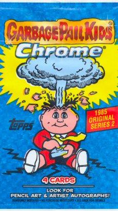 Garbage Pail Kids Chrome Series 2 Pencil Art Concept 68b DIZZY DAVE