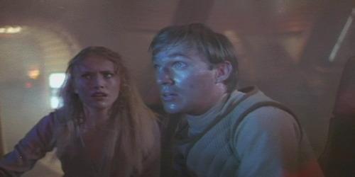 Nanelia (Darlanne Fluegel) and Shad (Richard Thomas)