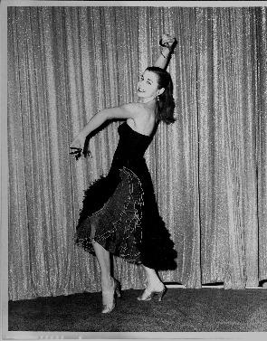 Marian Russell, dancer