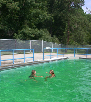 Happy land - Letchworth state park swimming pool ...